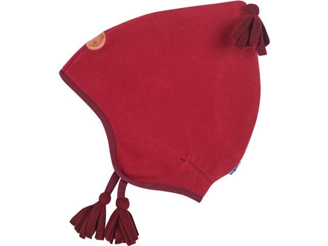 Finkid Pipo Bonnet Pixie Polaire Fille, persian red/cabernet